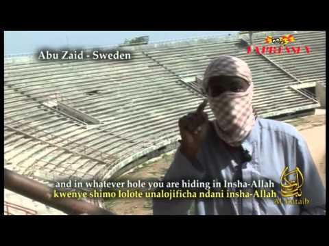 Swedish al-Shabab terrorist in Somalia threatens to behead cartoonist Lars Vilks - 24 Nov. 2010