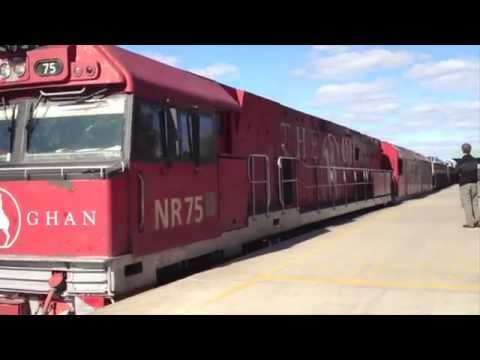 The Ghan - Adelaide to Darwin