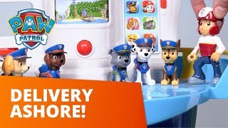 PAW Patrol | Delivery Ashore | Toy Episode | PAW Patrol Official & Friends