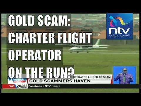 Fake gold scam: DCI hunt charter flight operator based at Wilson, Nairobi