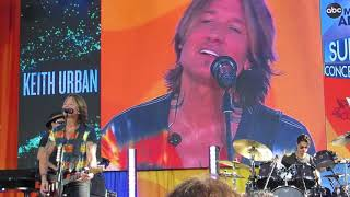 "Keith Urban ""Parallel Lines"" Live at Good Morning America"