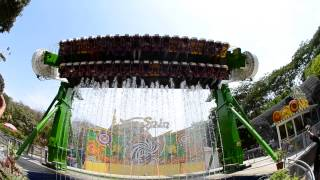 Awesome New Ride at Essel World  - Top Spin...