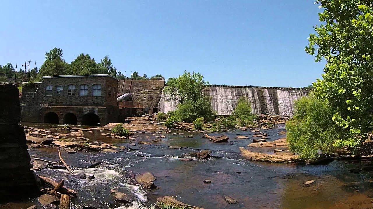 Boyds Mill pond dam