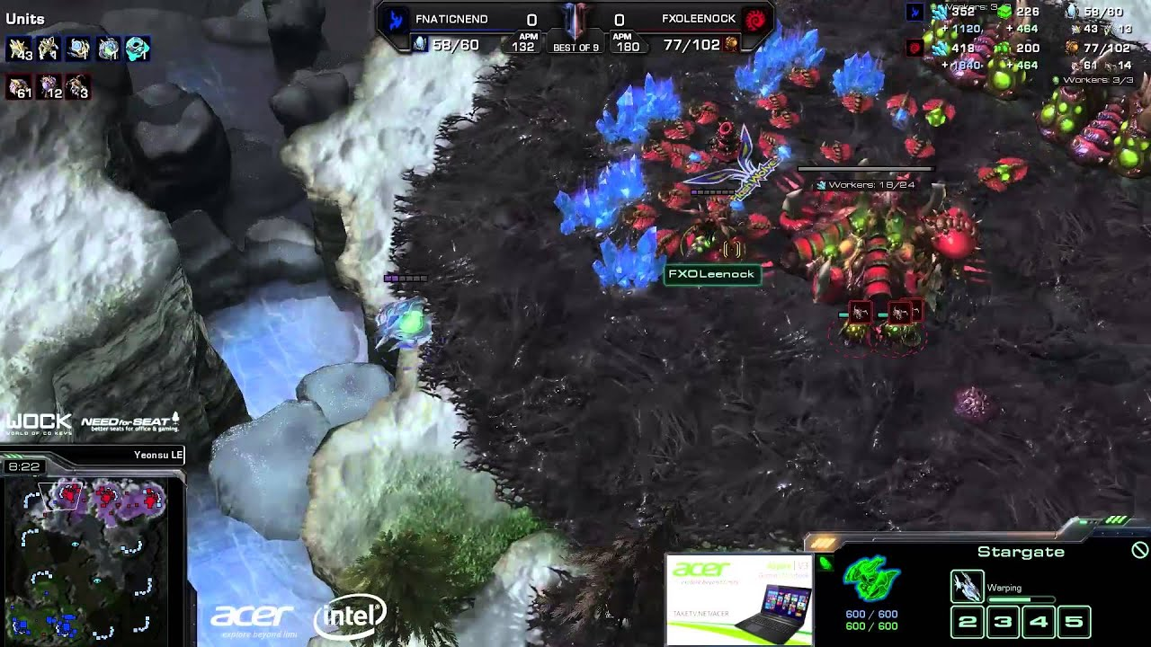 Leenock vs. NightEnd (ATC) - FlashWolves vs. NrS - Game 1 - StarCraft 2