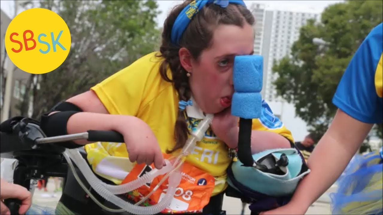 Completing a Marathon with Muscular Dystrophy