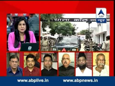 ABP News debate: Who is deteriorating situation in Uttar Pradesh?