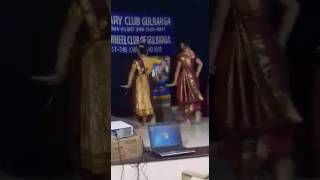 Pinga dance at rotary club.