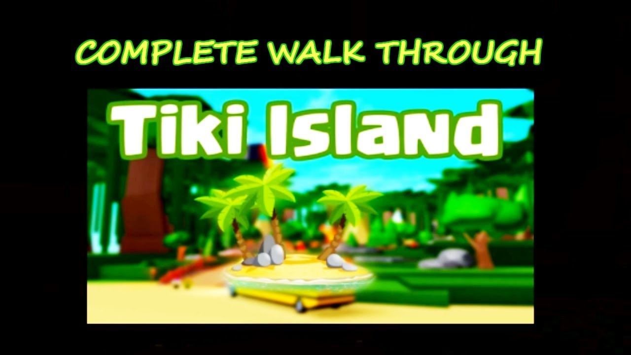 Tiki Island Complete Walk Through Trapped Ending Roblox Camping Youtube