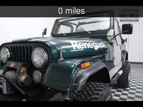 1983 Jeep CJ7 Renegade CJ7 Used Cars   Denver,Colorado   2015 07 21