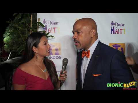 Dr. Henri R. Ford Interview at Hot Night in Haiti Charity Event