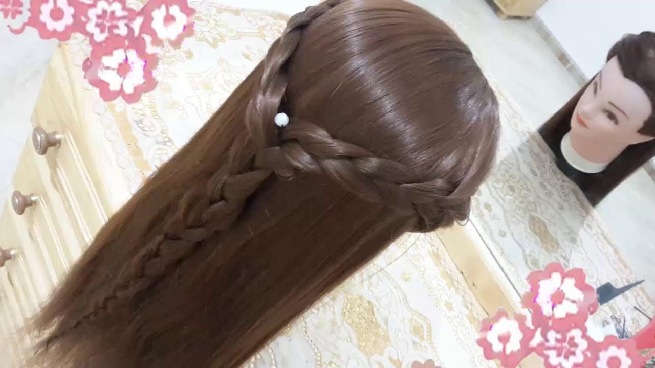 Peinados faciles bonitos y rapidos con trenzas para ni a - Peinados de nina ...