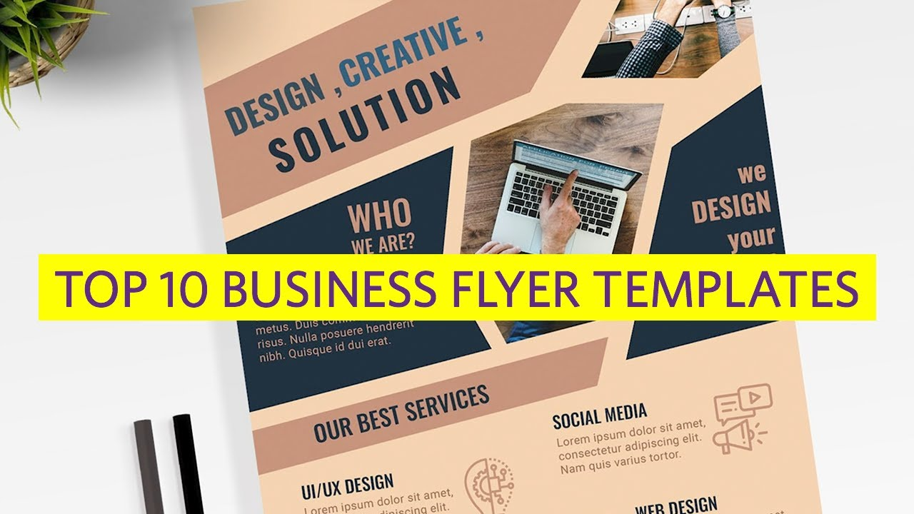 15 Design Tips To Make Professional Business Flyers In 2020 With Great Designs