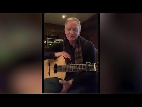 """Coronavirus, la canzone di Sting per l'Italia: """"Mi manca il mio Paese preferito"""""""