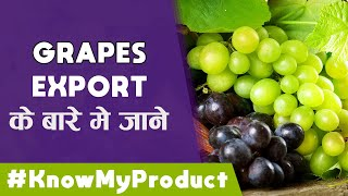 Know My Product - EP07 - How to Export GRAPES [अंगूर] | iiiEM