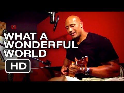 "Journey 2 The Mysterious Island - Dwayne Johnson: ""What A Wonderful World"""