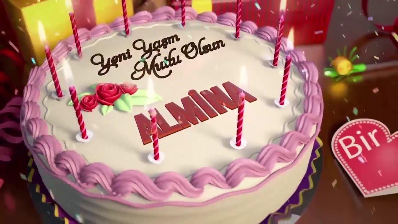 İyi ki doğdun ALMİNA - İsme Özel Doğum Günü Şarkısı