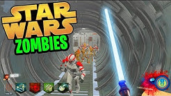 STAR WARS ZOMBIES w/ LIGHTSABER!!! (Black Ops 3 Custom Zombies Gameplay)