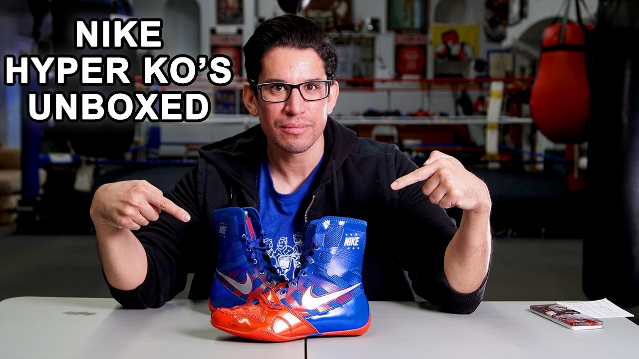 Puerto marítimo Citar canta  THE SHOES MANNY PACQUIAO MADE FAMOUS! NIKE HYPER KO'S UNBOXED! - YouTube