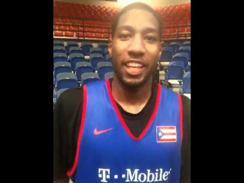 John Holland, Puerto Rico Basketball Team Practice (7/25/11), Boricuas Ballers