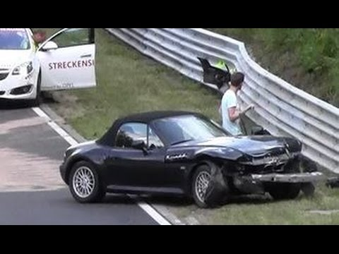 Bmw Z3 M Frontal Crash Nordschleife Unfall N 252 Rburgring