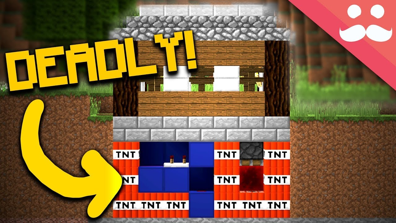 How To Make A Trap House In Minecraft