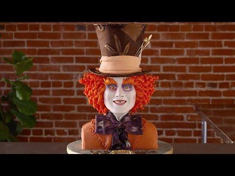 Asombrosa recreación del Sombrero Loco en un pastel | Oh My Disney