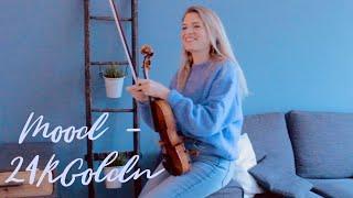 24kGoldn - Mood (Violin Cover) ft. iann dior