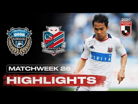 Kawasaki Frontale Sapporo Goals And Highlights