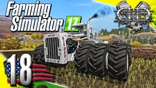 Farming Simulator 2017 Gameplay :EP18: Big Bud 747 DLC w/ Seed Hawk! (PC HD American Outback)
