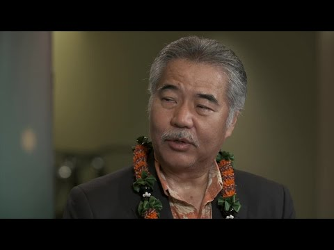Hawaii Governor David Ige on the state