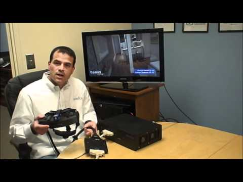xSight head-mounted display demo by Sensics