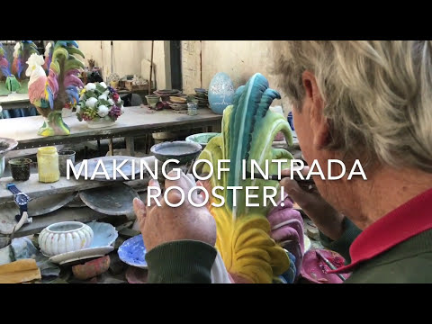 INTRADA ITALY Making Of The Intrada Ceramic Rooster