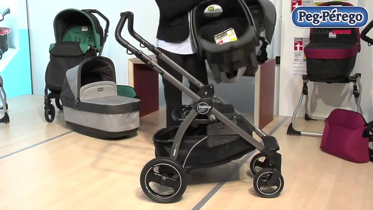 Peg Perego 2014 Book Pop Up Stroller - YouTube