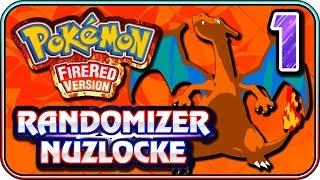 Fire Red Randomizer Nuzlocke (PART 1) - Bob's Beginning