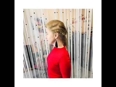Стильная прическа от Марины салон красоты La Familia Salon семейная парикмахерская Гагарина Бровары