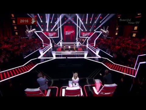 Damir/Daniel/Elizabeth.'Эх, дороги'.The Voice Kids Russia 2016.