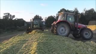Szybka kiszonka z kukurydzy 2016 4K ㋡ DE LUXE TEAM 3 ㋡
