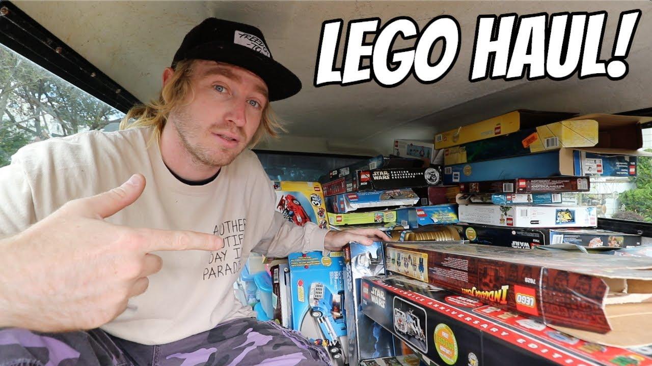 $10,000 WORTH OF LEGO?!