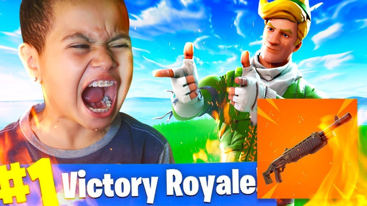 new-legendary-pump-shotgun-coming-to-fortnite-battle-royale-10-year-old-brother-rages-hard