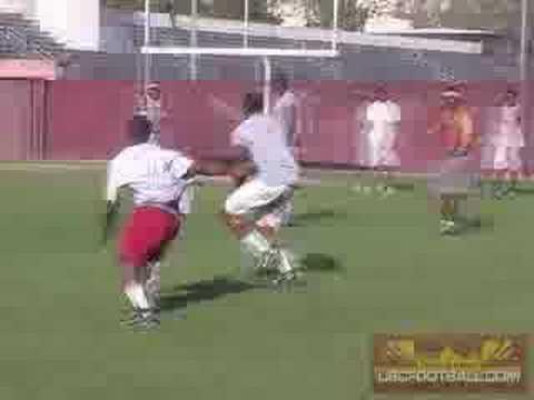 Vidal Hazelton Practice at USC