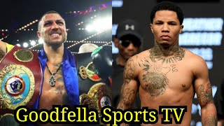 Vasyl Lomachenko Warns Gervonta Tank Davis He'll Come Down to Super Featherweight to Whoop Dat A**!!