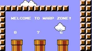 Super Mario Bros(NES),быстрое прохождение