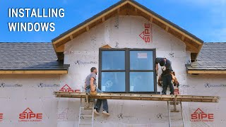 ICF Mountain Homestead: Building Thresholds and Installing Windows