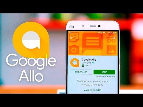 Google Allo, la nueva app de mensajería instantánea