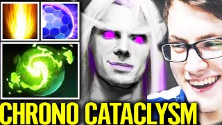 MIRACLE WORLD BEST INVOKER! WTF Cataclysm Chrono Refresher Orb Deleted All Epic Dota 2 Pro Gameplay