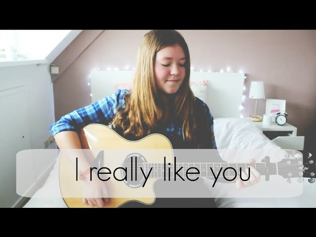 I really like you - Carly Rae Jepsen Cover