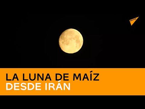 La luna de maíz desde Irán