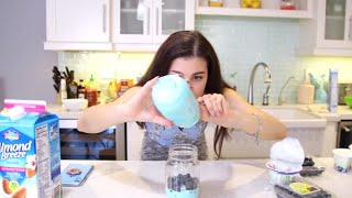 i only ate blue food for 24 hours. Video