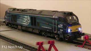 Dapol DRS 68002 Model in 4mm Scale (00 Gauge) - Legomanbiffo Sound & Lighting Improvements