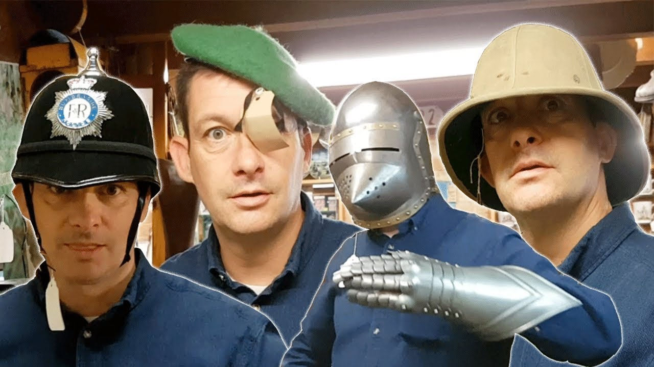 Dan Causes Trouble In The Antique Shop